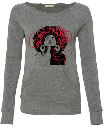 Hair Free Girl Sweatshirt